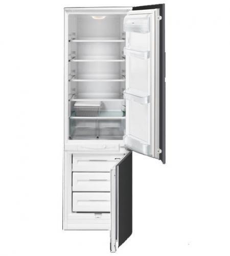 встраиваемые холодильники Smeg